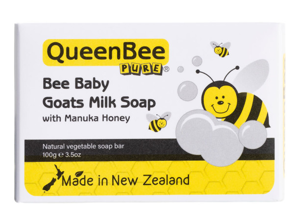 QueenBee Pure Bee Baby Goats Milk Soap