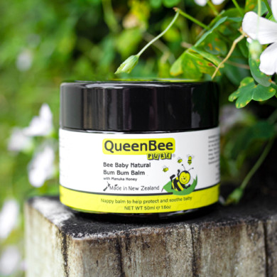 QueenBee Pure Bee Baby Bum Bum Balm