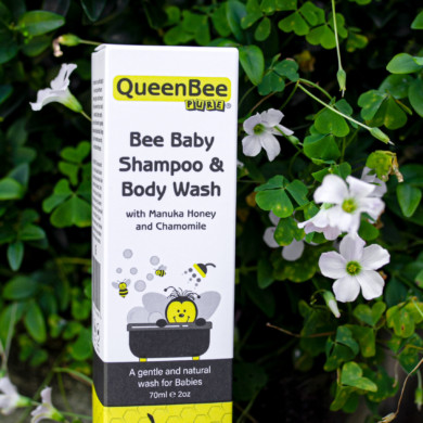 QueenBee Pure Bee Baby Shampoo & Body Wash