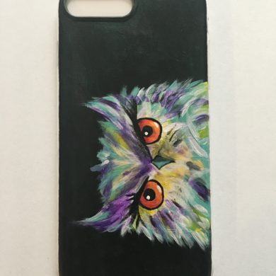 Black Owl: iPhone 7+case