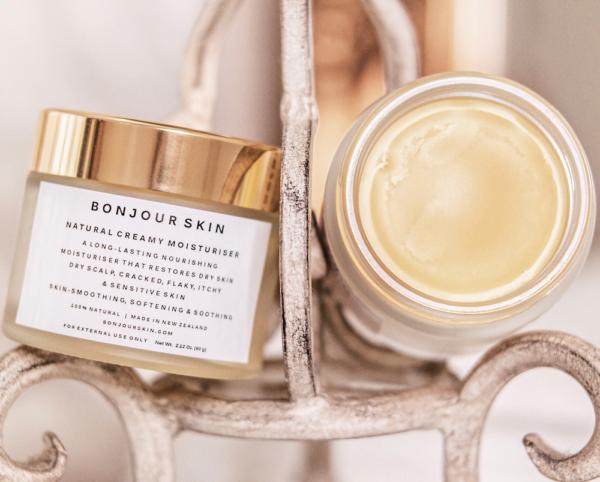 Bonjour Skin NZ Natural Moisturiser For Dry Skin Itchy Flaky Sensitive Eczema Psoriasis