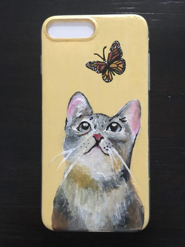 Cat & Butterfly