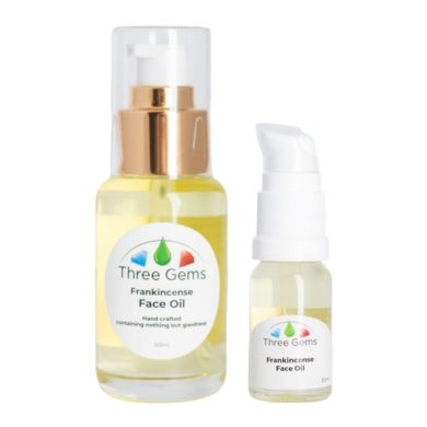 Three Gems Frankincense Face Oil in 2 sizes