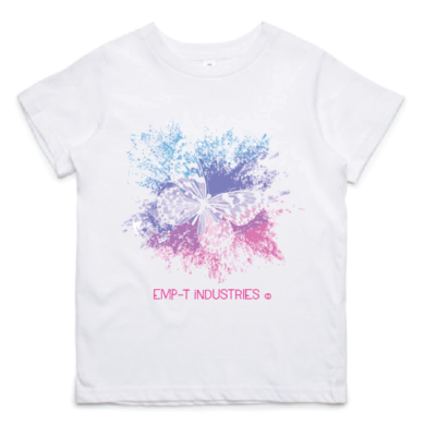 Girls Tee - Butterfly