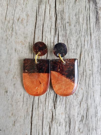 Ngatu earrings