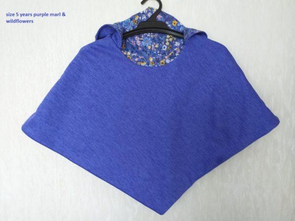 Size 5 Purple marl & wildflowers
