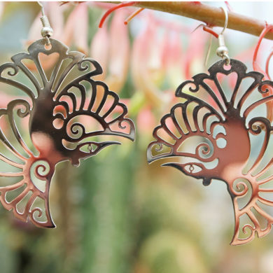 sample Tui earrings