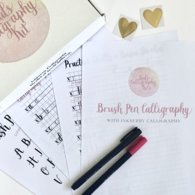 Kids Calligraphy Kits Brush Pen Calligraphy