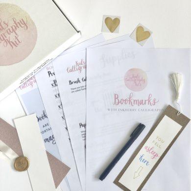Kids Calligraphy Kits Bookmark