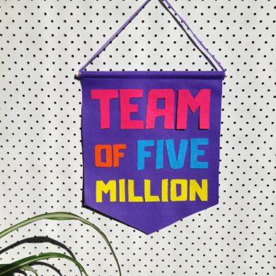 Team of 5 million