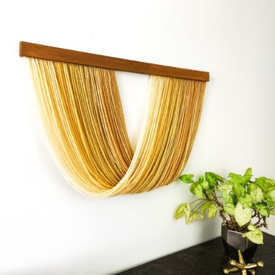 Medium Hoiho - fiber wall art