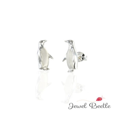 silver-hoiho-pengiuin-earrings