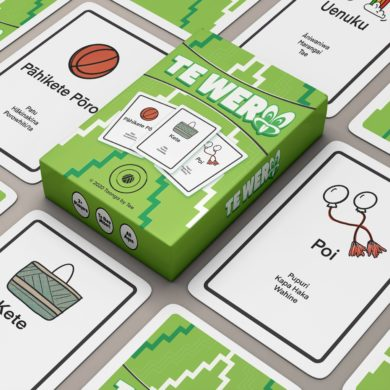 Te Wero, A rapid-fire card game aimed to encourage the use of Te Reo Maori