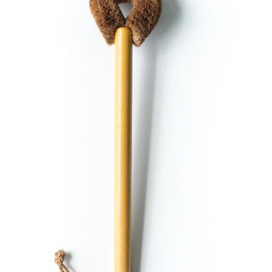 timber toilet brush
